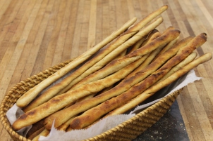 Garlic Parmesan Grisinni