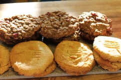 Michigan Cherry & Oat Cookies and Peanut Butter Cookies